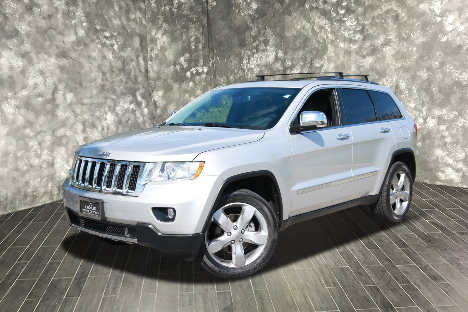Pre Owned 2013 Jeep Grand Cherokee Overland