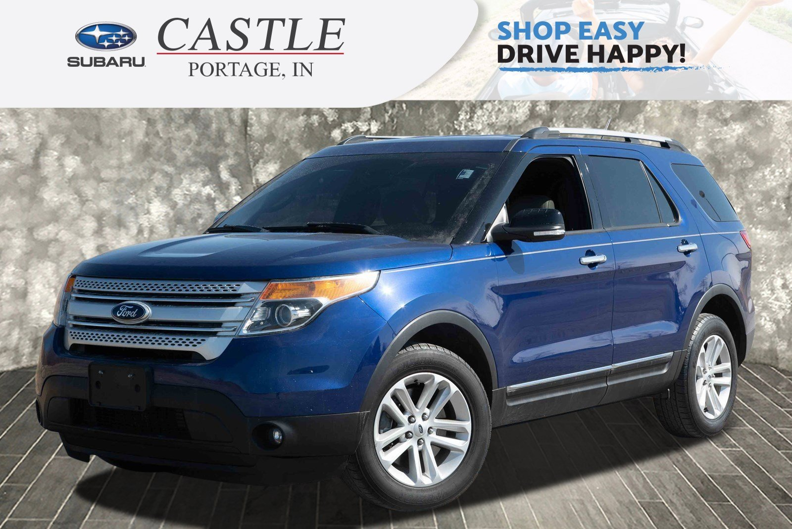 Pre-Owned 2014 Ford Explorer XLT