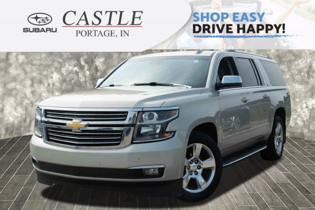 Pre Owned Suburban >> Pre Owned 2015 Chevrolet Suburban Ltz 4wd