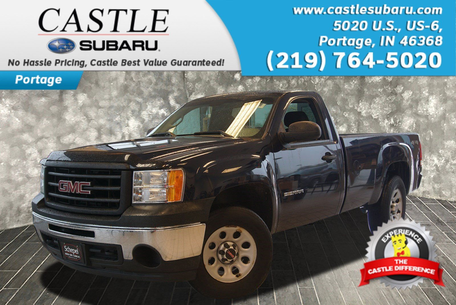 Pre-Owned 2010 GMC Sierra 1500 Work Truck