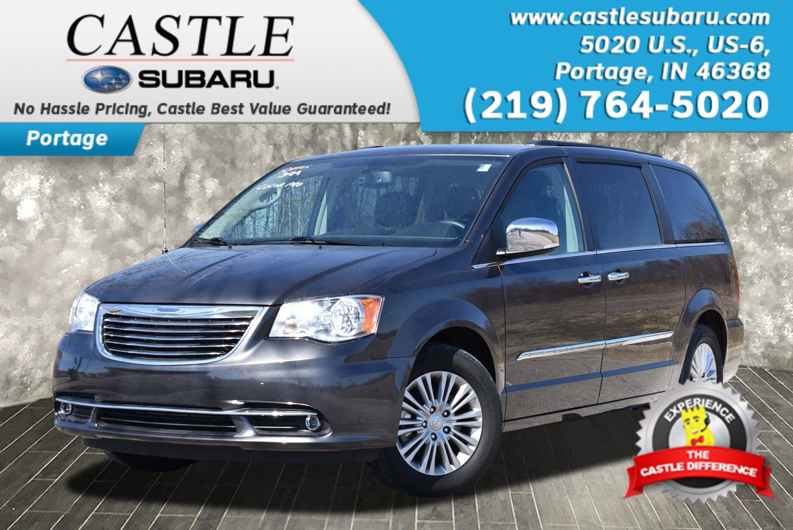 Pre Owned 2015 Chrysler Town & Country Touring L Mini van Passenger