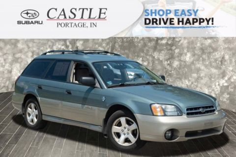 Pre-Owned 2002 Subaru Legacy Wagon Outback w/All Weather Pkg