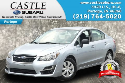 Pre-Owned 2016 Subaru Impreza Sedan 2.0i